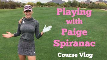 美人プロゴルファー ペイジュ・スパイラナックのゴルフコースVLOG
