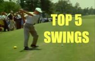 トップ5 ベストクラシックゴルフスイング
